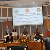Concession agreement signed for 600MW project in Bhutan